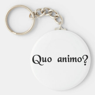 With what spirit? key chain