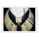 With Wings Wide Open... Greeting Card