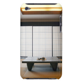 with wooden table and modern style tatami : iPod Case-Mate case
