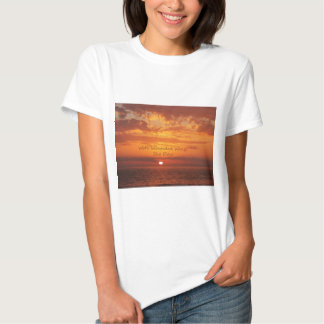 With Wounded Wings She Flew Encouragement Tee Shirt
