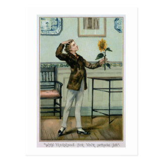 With Yearnings For Your Intense Joy, Victorian Chr Postcard