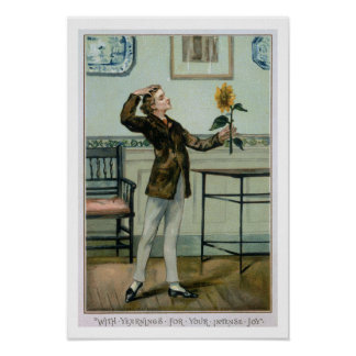 With Yearnings For Your Intense Joy, Victorian Chr Poster