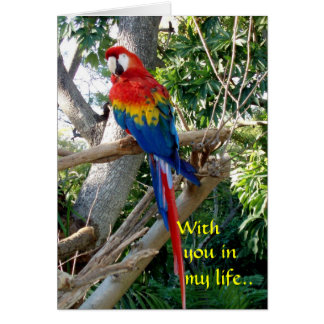 With you in my life.. card