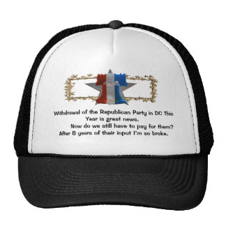 Withdrawal of the Republican Party. Trucker Hat