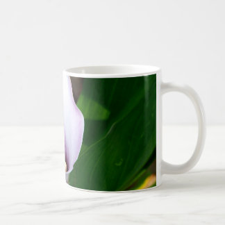 Withe and Purple Calla Lily Coffee Mug