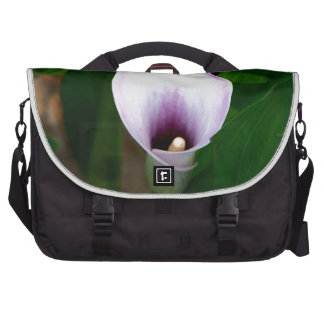 Withe and Purple Calla Lily Bag For Laptop
