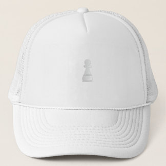 Withe Pown - White Laborer Trucker Hat