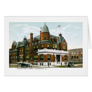 Withers Public Library Bloomington Illinois Cards