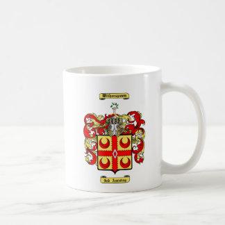 Witherspoon Classic White Coffee Mug