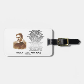 Within A Few Years Simple Inexpensive Device Tesla Bag Tag