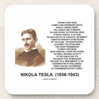 Within A Few Years Simple Inexpensive Device Tesla Drink Coasters
