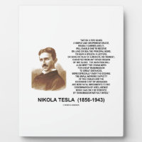 Within A Few Years Simple Inexpensive Device Tesla Display Plaques