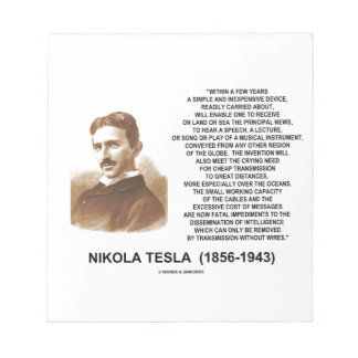 Within A Few Years Simple Inexpensive Device Tesla Notepad
