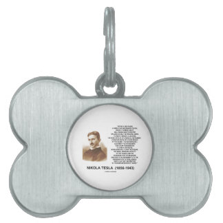 Within A Few Years Simple Inexpensive Device Tesla Pet ID Tag