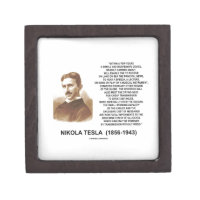 Within A Few Years Simple Inexpensive Device Tesla Premium Keepsake Box