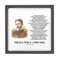Within A Few Years Simple Inexpensive Device Tesla Premium Trinket Box