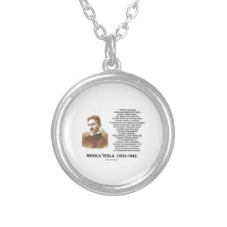 Within A Few Years Simple Inexpensive Device Tesla Round Pendant Necklace