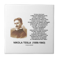 Within A Few Years Simple Inexpensive Device Tesla Small Square Tile