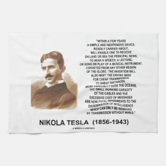 Within A Few Years Simple Inexpensive Device Tesla Towel