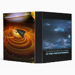 Within a Sea of Blue - Inspirational 3 Ring Binder