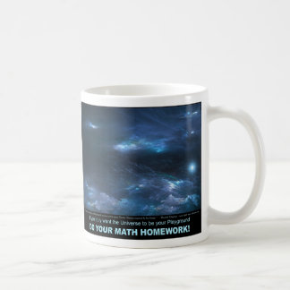 Within a Sea of Blue - Inspirational Classic White Coffee Mug