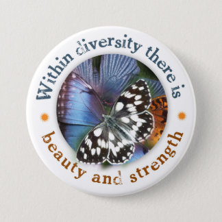 Within Diversity there is Beauty and Strength Button