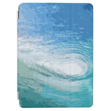 Within the Blue Ocean Waves Artwork iPad Air Case