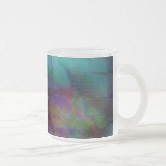 Withindream 10 Oz Frosted Glass Coffee Mug