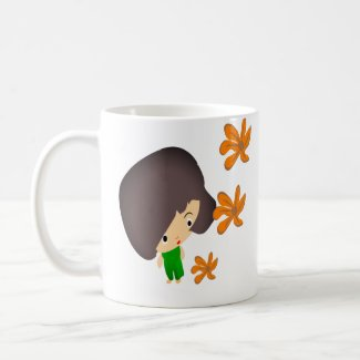 Withing Flowers Coffee Mug