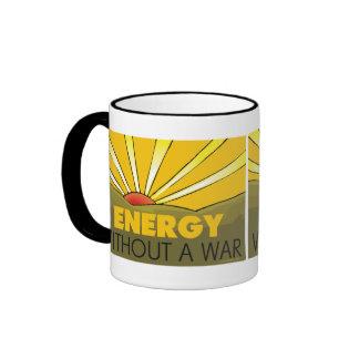Without A War Solar Ringer Mug
