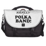 Without Accordion - Polka Band Laptop Commuter Bag