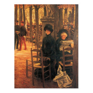 Without Aussteuer by James Tissot Postcards