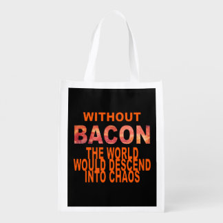 Without Bacon Grocery Bag