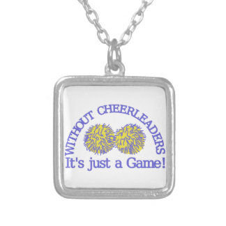 Without Cheerleaders Silver Plated Necklace