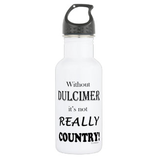 Without Dulcimer - Country Stainless Steel Water Bottle