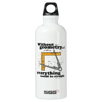 Without Geometry, everything would be straight SIGG Traveler 0.6L Water Bottle