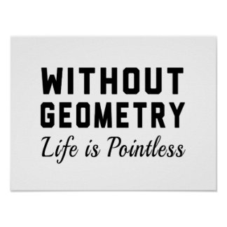 Without Geometry Poster