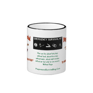 """""""Without Hope"""" Prepare To Survive!   Coffee Mug V2"""