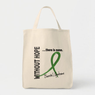 Without Hope Tourette's Syndrome Tote Bags