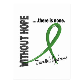 Without Hope Tourette's Syndrome Postcard