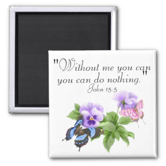 without me you can do nothing Magnet