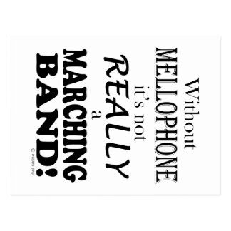 Without Mellophone - Marching Band Postcard