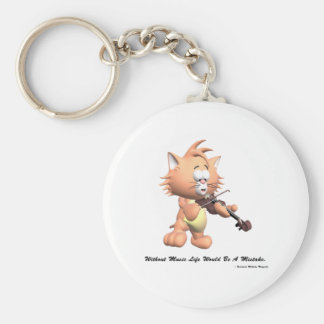 Without Music Keychain