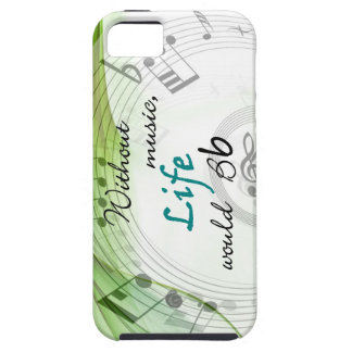 Without Music, Life Would Bb iPhone SE/5/5s Case
