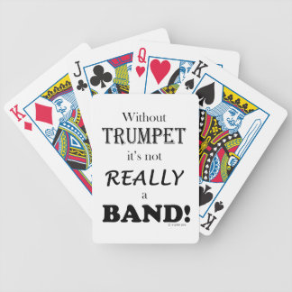 Without Trumpet - Band Bicycle Playing Cards