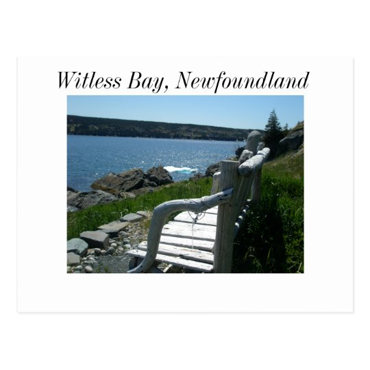 witless Bay # 2, Witless Bay, Newfoundland Postcard