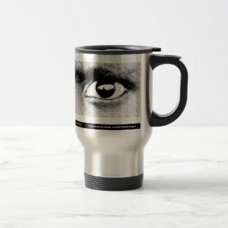WITNESS eye stainless steel mug