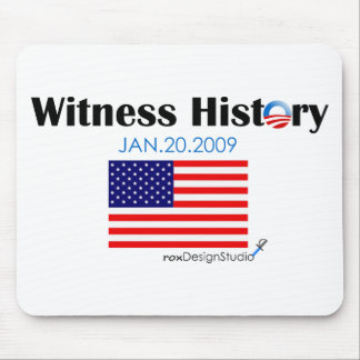 Witness History Mouse Pad