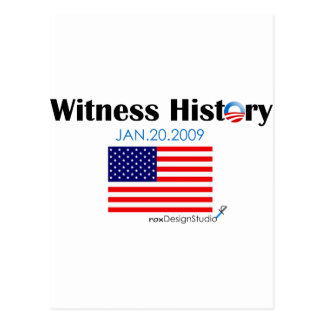 Witness History Postcard