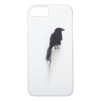 """Witness"" - Raven in Winter Snow iPhone 7 Case"